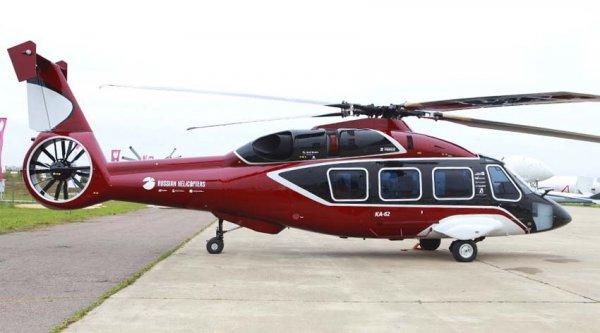 «Вертолёты России» впервые представят новейший вертолёт Ка-62