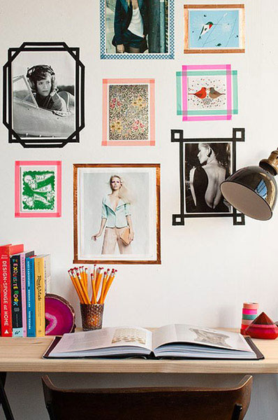 Washi Tape: от рукоделия к дизайну интерьеров