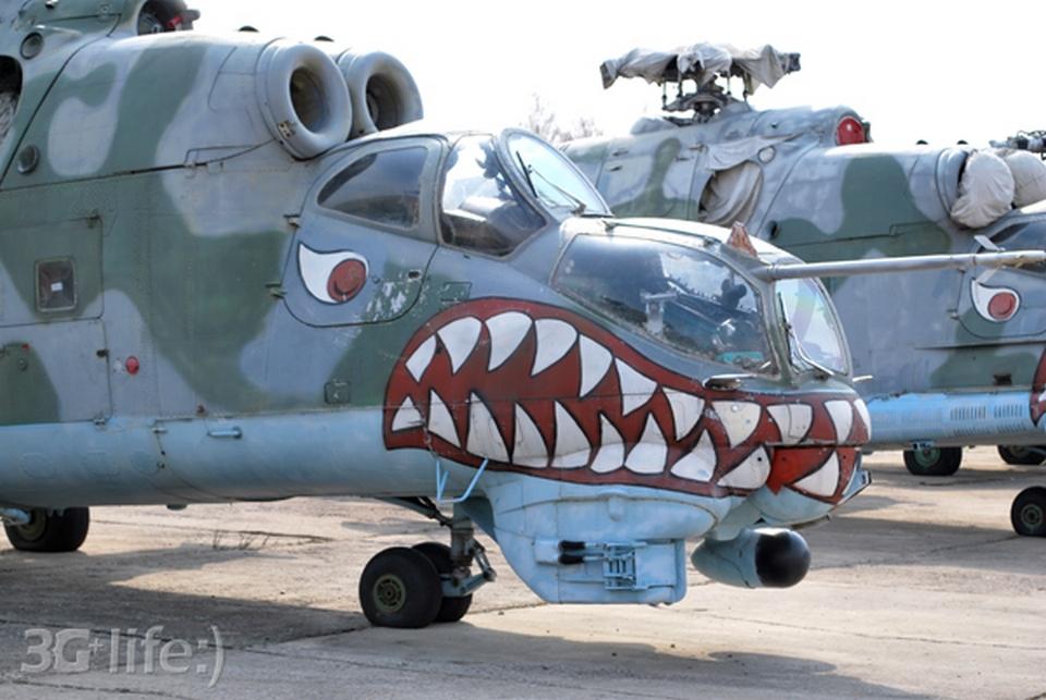 Вертолеты Ми-24 в Белоруссии