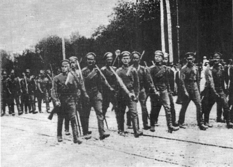 Победы армии Деникина в Новороссии и Малороссии