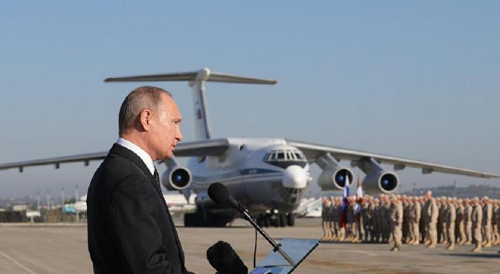 В США отреагировали на решение Путина вывести из Сирии войска
