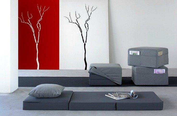 Минимализм и компактность не только для маленьких квартир