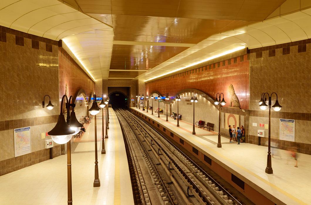 Шедевральные станции метро разных стран