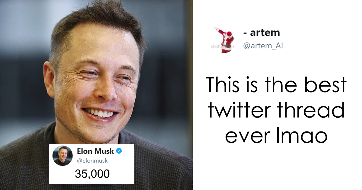Elon Musk Tweets The Number 35,000 And Things Take An Unexpected Turn