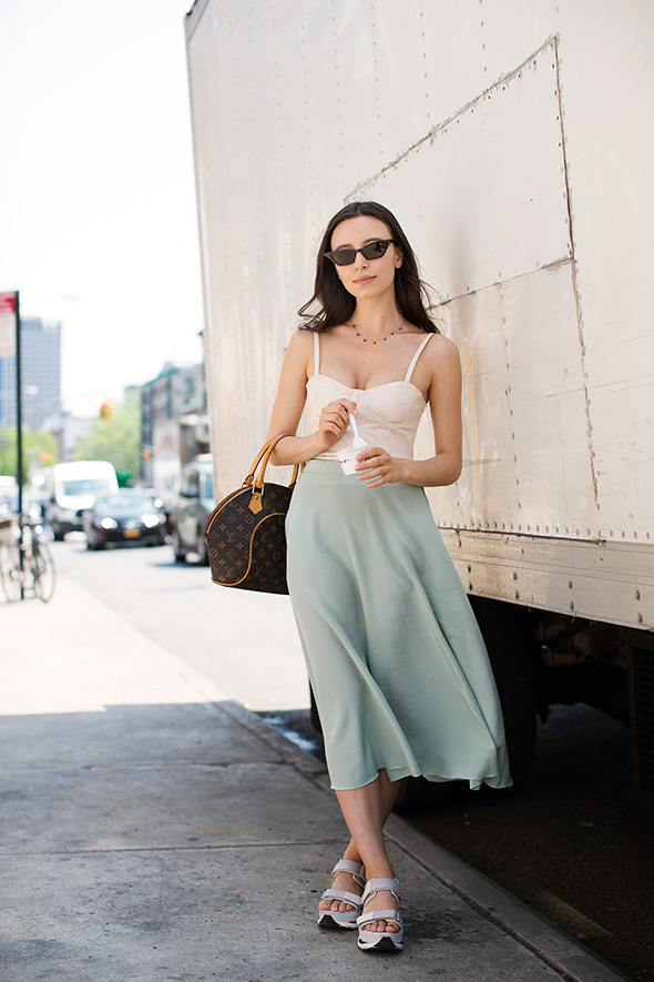 On the Street…Summer Dressing, New York