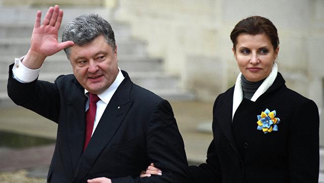 Жену Порошенко уличили в краже денег, предназначенных для детей-инвалидов