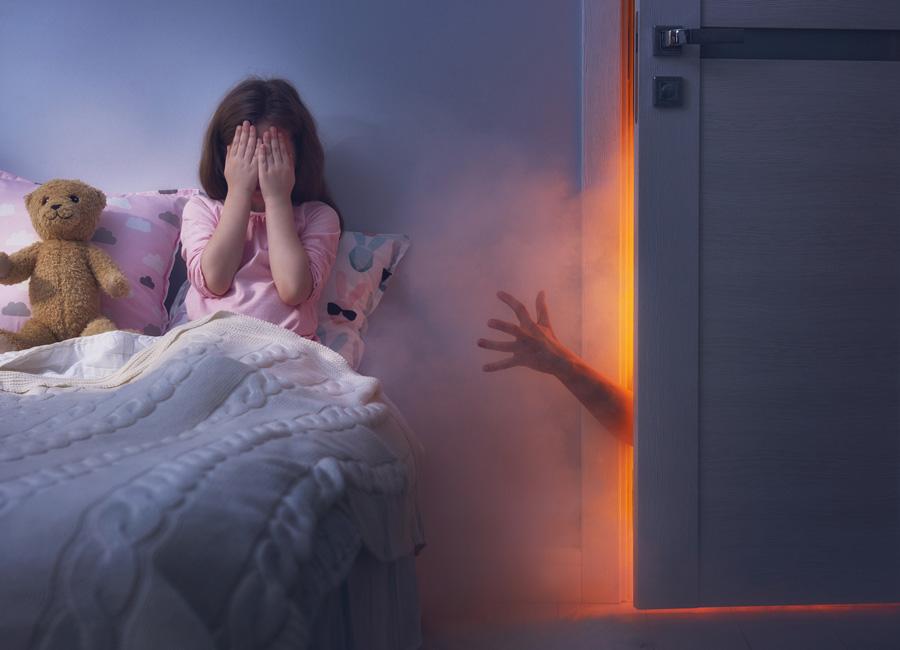 Детские страхи и страшные сказки