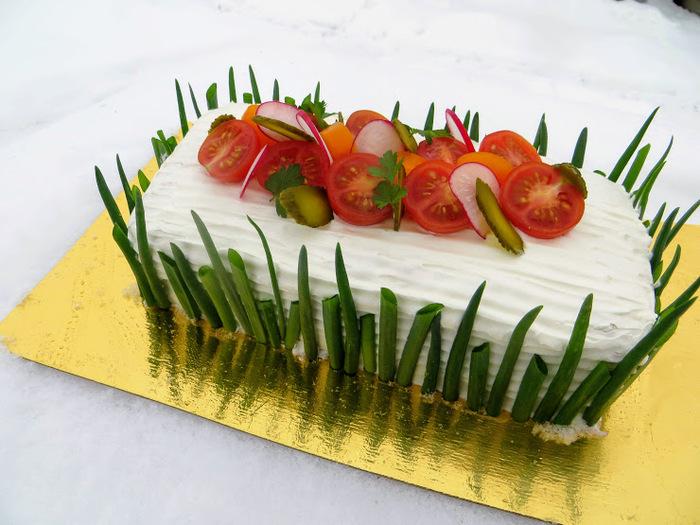 Мясной Наполеон - для тех кто хочет праздника! Закуска, Закусочный торт, Рецепт, Видео рецепт, Другая кухня, Праздничный стол, Вкусно, Готовим дома, Видео, Длиннопост