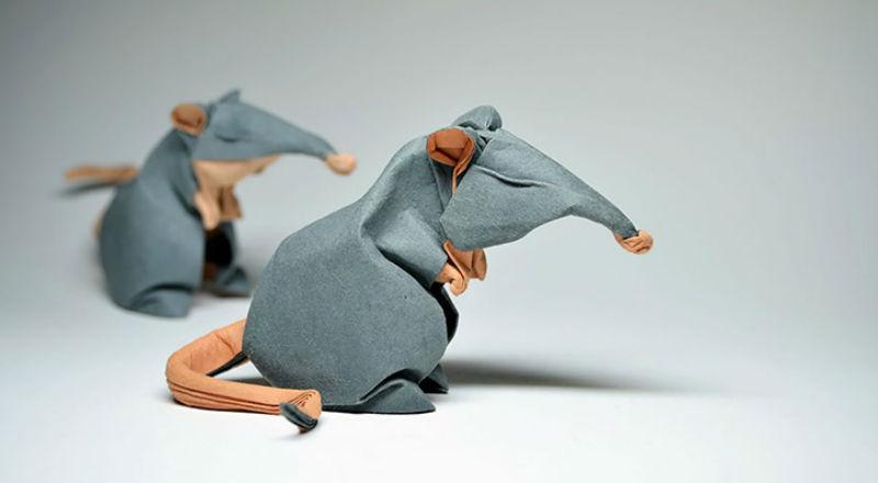 Сыровато: оригами от Хоанга Тьен Куета