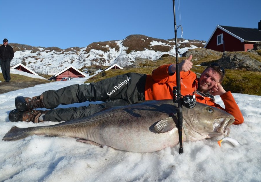 вес рыбы на удочке