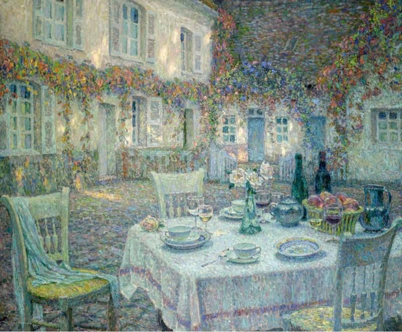 Художник  Henri Eugene Augustin Le Sidaner
