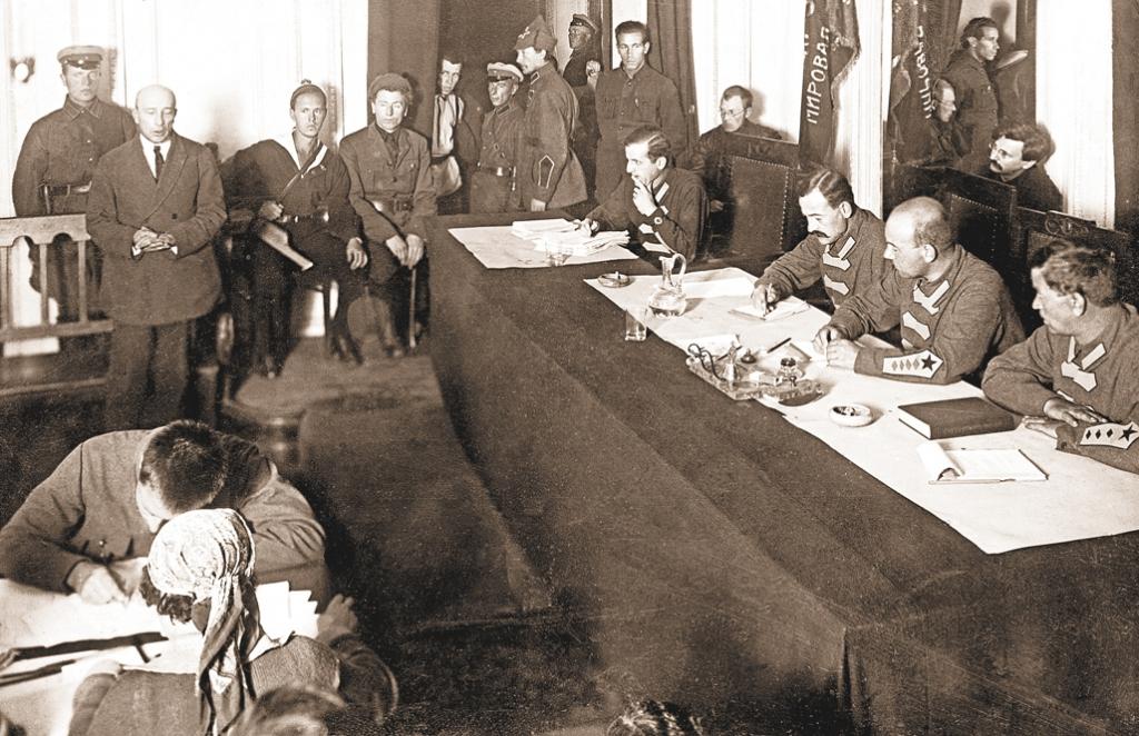 Процесс правых эсеров. 1922 г. Кинохроника.