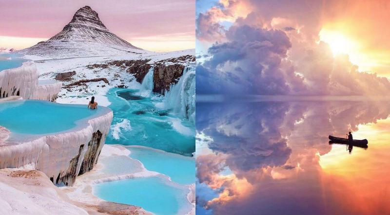 Художник создает миры настолько волшебными, что непонятно, где реальность, а где фантазия