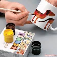 Как нанести на чашку любой рисунок