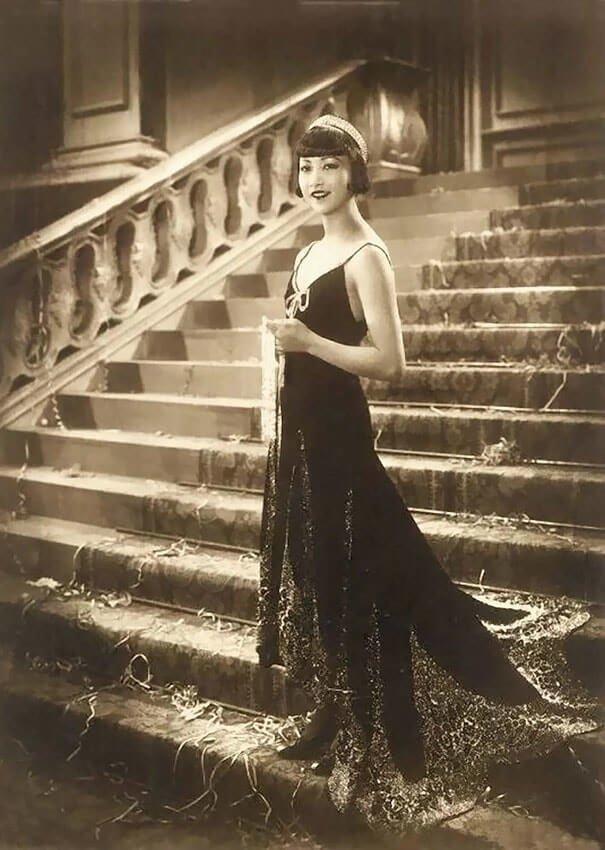 Анна Мэй Вонг 20 век, красота, фото