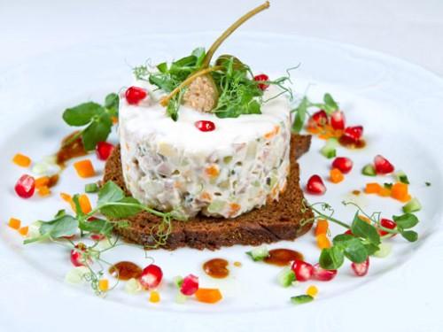 Лучшие рецепты приготовления салата Оливье