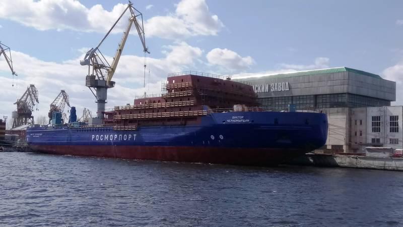 Ледокол «Виктор Черномырдин» передают на Адмиралтейские верфи