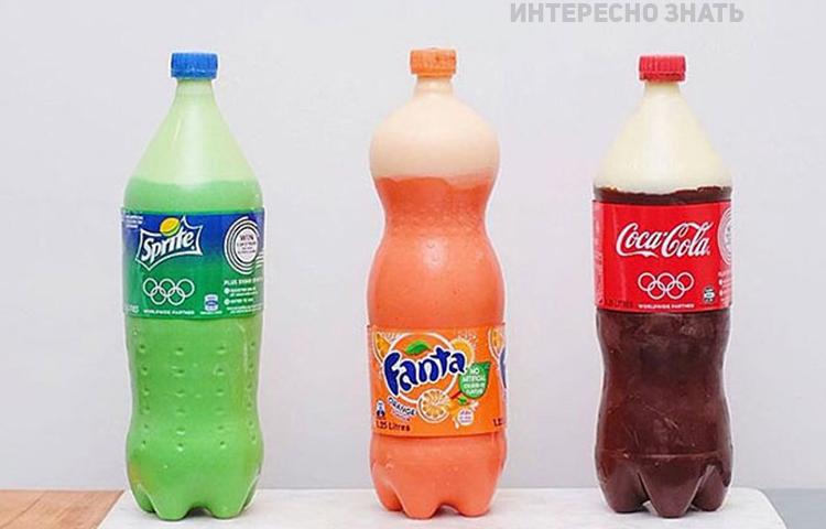 Вы никогда не догадаетесь из чего состоят эти газированные напитки