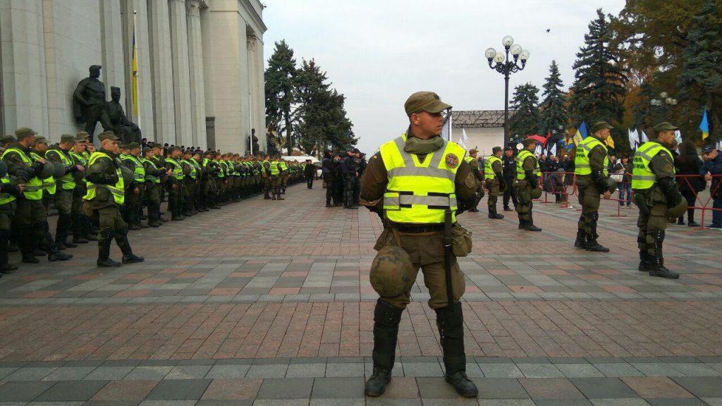 СМИ: «правосеки» готовятся к штурму Верховной рады Украины