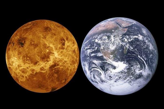 Солнечная система: Венера - «мертвый близнец» Земли.