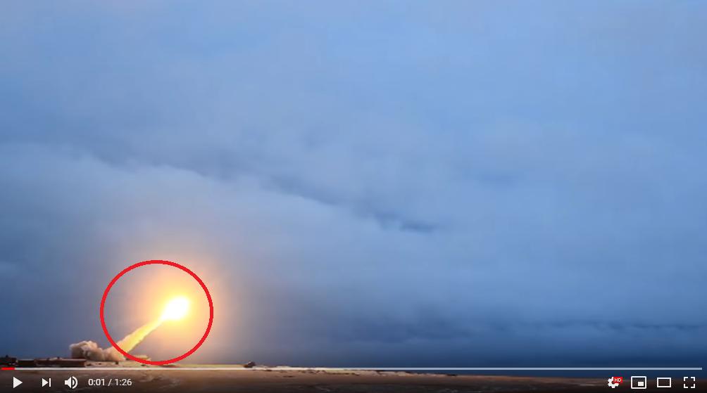 Испытания двигателя российской крылатой ракеты «Буревестник» завершились успешно