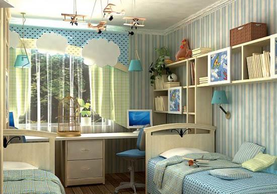Планировка комнаты на двоих