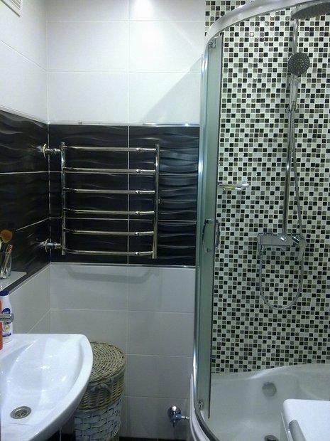 Ванная комната: лаконичный мужской интерьер