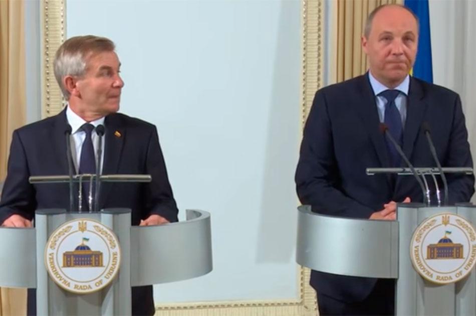 Литва собирает деньги для Украины