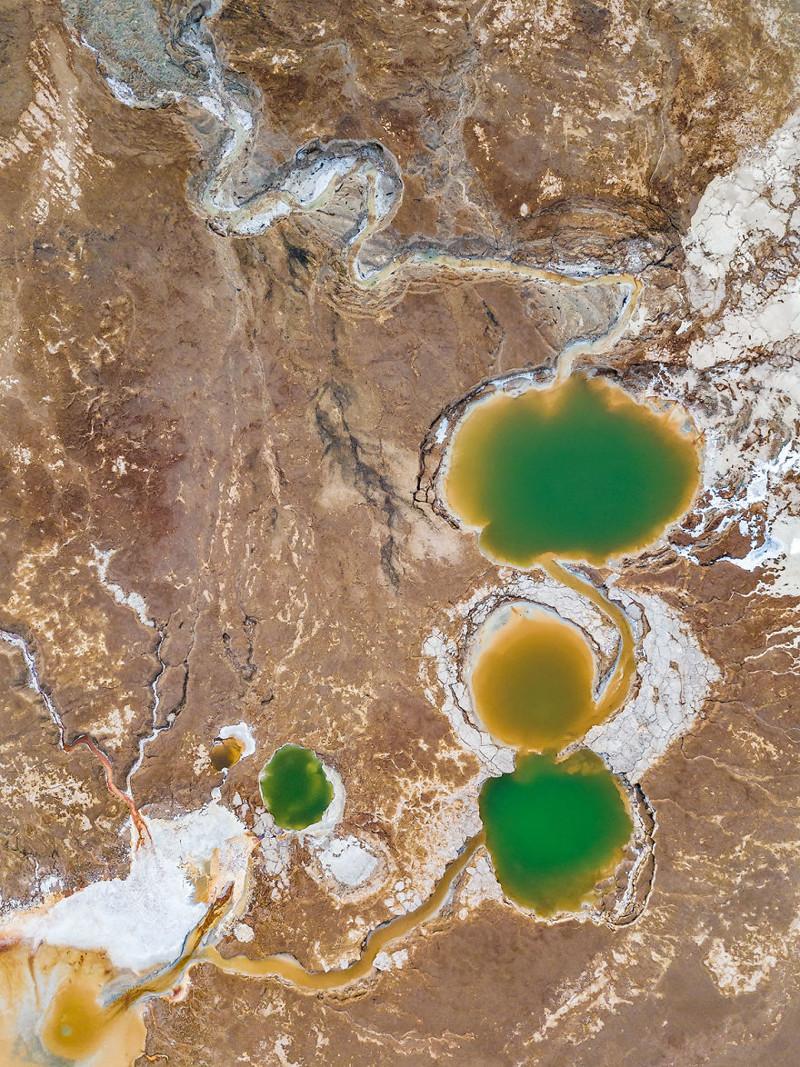 Анатомия продолжается: кишечник, желчный пузырь и мочевой пузырь Израиль, игра красок, красота, мертвое море, пейзажи, с высоты птичьего полета, фото, фотогра