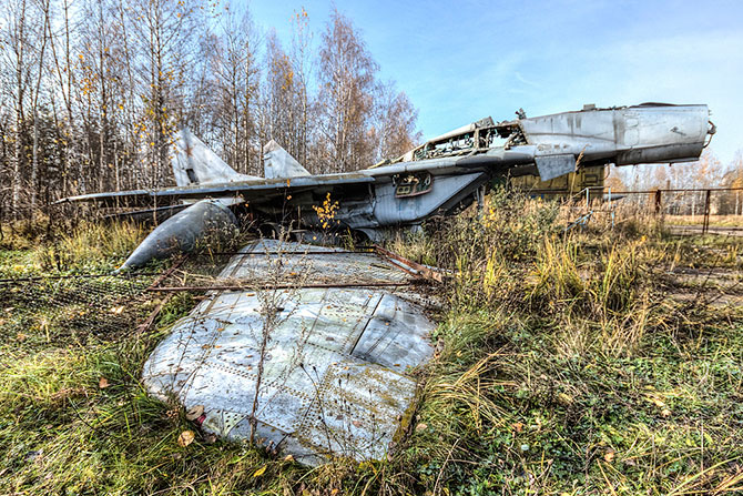 Так умирают самолёты