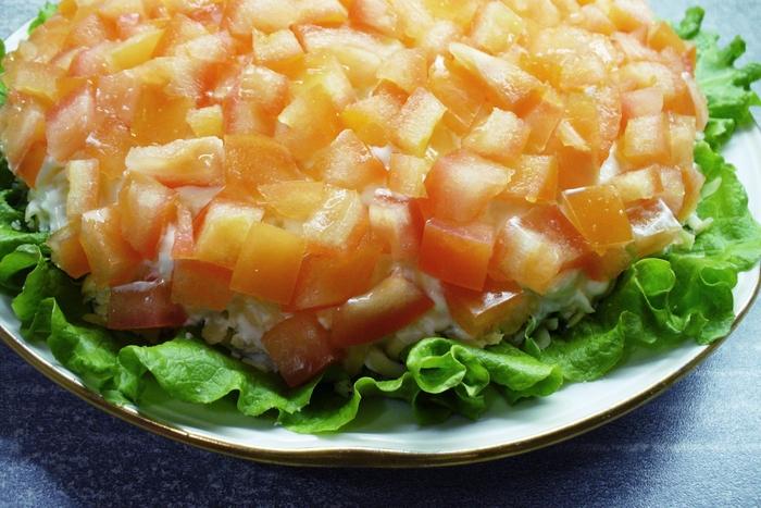 "Салат ""Маринара"" Кулинария, Салат, Вкусно, Длиннопост"