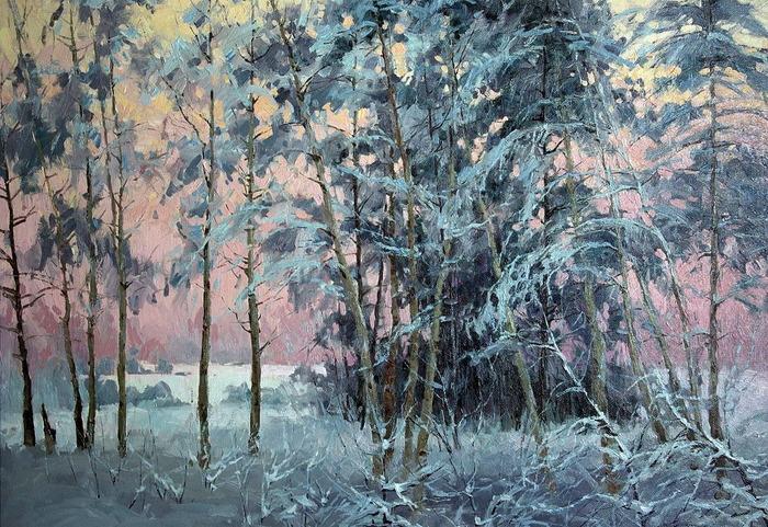 Послевкусие радости..прозрачной красоты пейзажи художника Сергея Перидиреева