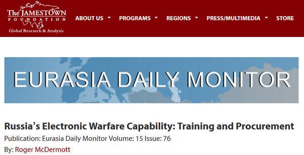 «Их возможности поражают» - военный эксперт США об успехах российских РЭБ систем в Сирии