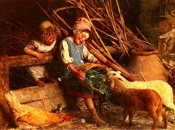 Гаэтано Кьеричи, холст, масло, 1868
