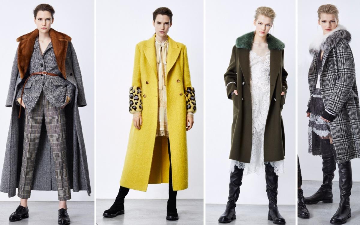 Модные пальто осень 2018 — трендовые модели