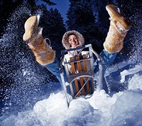 Классные зимние фотографии и…