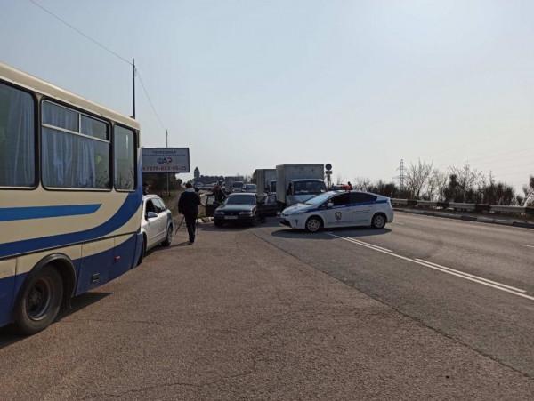 На въезде в Севастополь выяв…