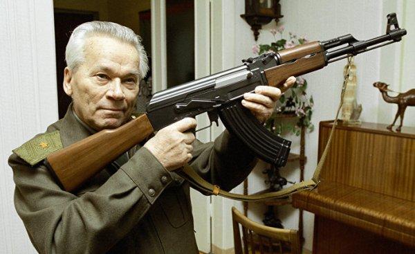 Почему автомат АК-47 используется почти в 100 странах