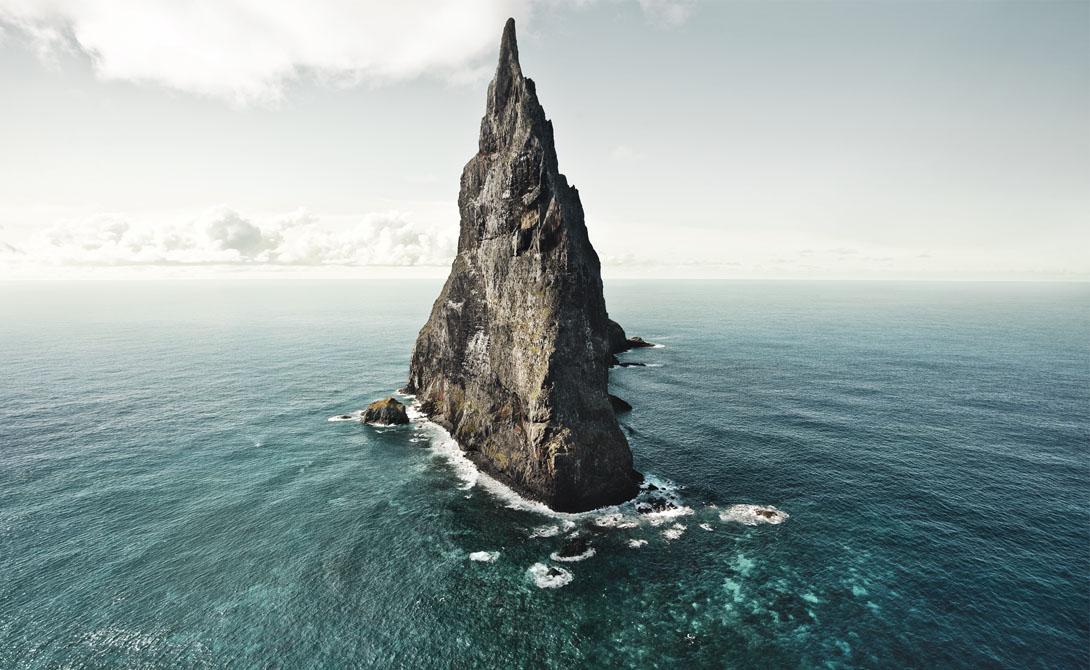 Необитаемые острова, на которые не ступала нога человека