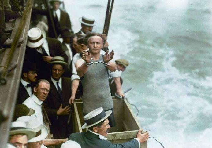 Гарри Гудини. 1912 история, люди, мир, фото