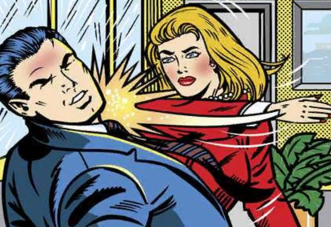 Ломаем стереотипы: из-за чего жена бьет мужа