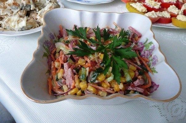 Салат «Охотничий» — настоящее мужское блюдо