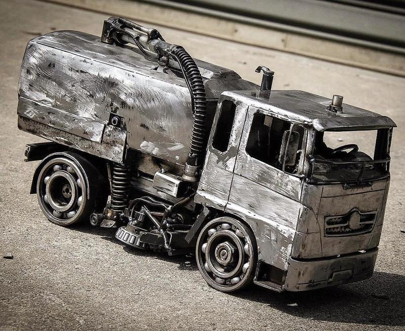 Миниатюры авто из металла своими руками