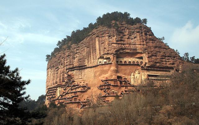 Пещеры Майцзишань — сокровище Китая