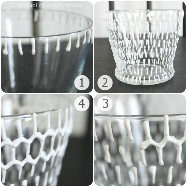 Рельефные вазы