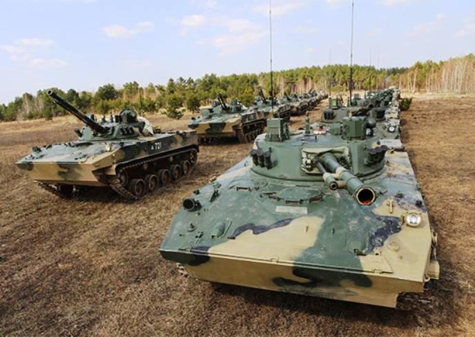 ВДВ в рамках испытаний проведет десантирование новой бронетехники