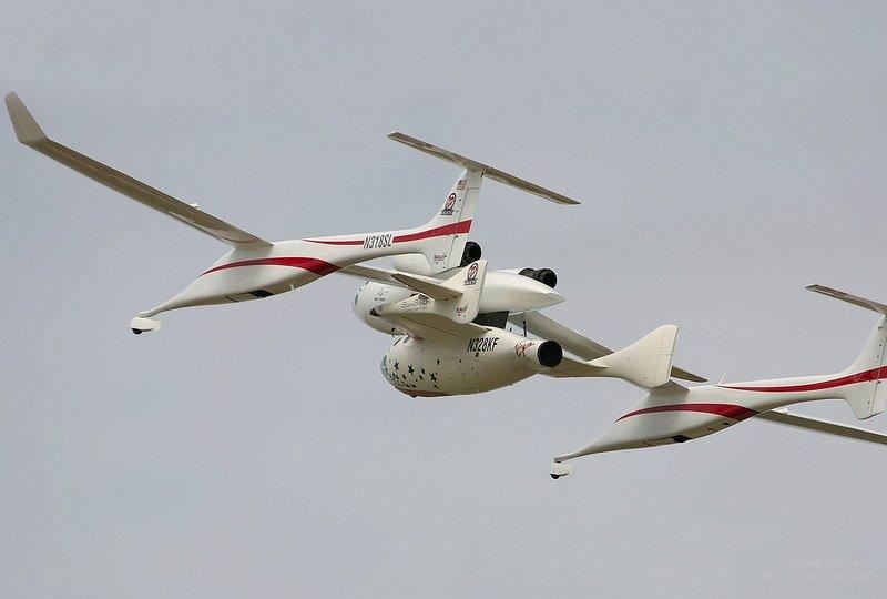 White Knigh – один из самых необычных летательных аппаратов современности