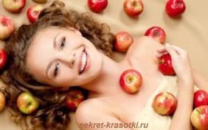 Яблочный десерт для Вашей кожи
