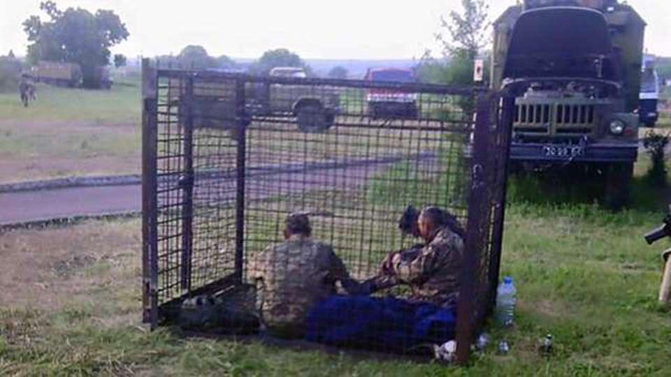 Эпическая драка за ложку между украинскими военными