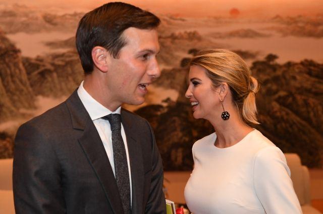 Адвокат обвинил Иванку Трамп и ее мужа в сокрытии доходов
